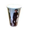 供应长沙收藏纸杯一次性明星印刷杯
