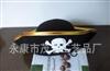 供应海盗帽,骷髅头布帽,,印刷骷髅头万圣节鬼节帽子