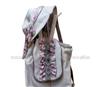 民族特色包包 休闲包包套装 979花画世界(双肩包+帽子)特价包邮