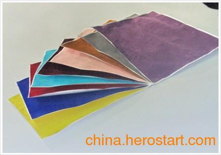 环保墙纸十大品牌瑞泉供应供应单张植绒转印纸
