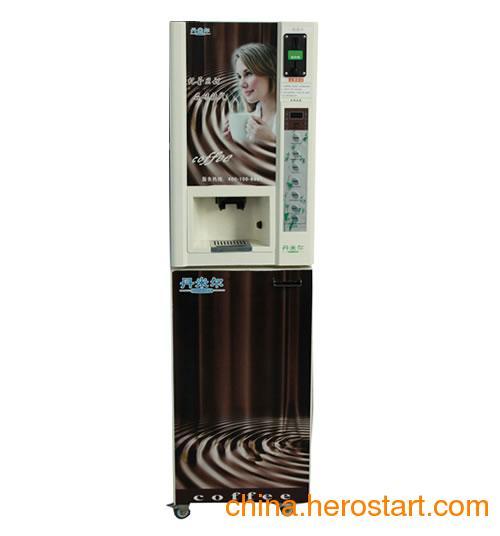 供应丹米尔三冷三热自动售饮机/投币咖啡机
