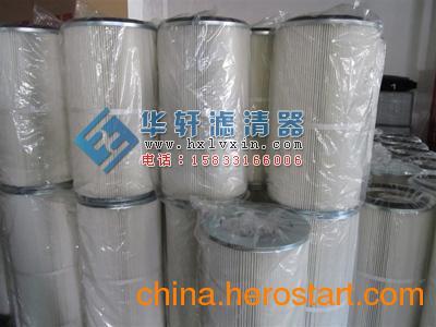 供应静电喷涂生产线粉末回收除尘滤芯 滤筒