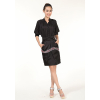 供应深圳斯玫优质品牌女装货源100%真丝连衣裙批发 一线品牌芭蒂娜女装批发