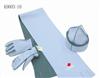 【帽子围巾套件】围巾批发2011新款 深灰色  /三件套 厂价直销