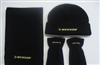 热销男士冬天促销礼品男士摇粒绒帽子围巾手套三件套
