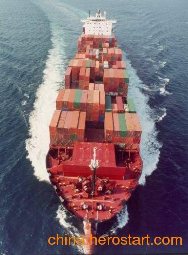 供应香港到连云港海运驳船运输公司