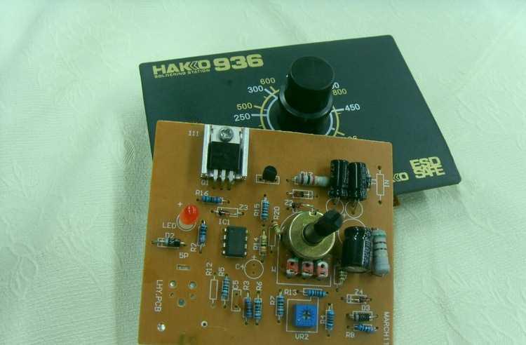 全新白光hakko936焊台控制面板 线路板