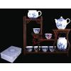 供应西安青花瓷茶具西安青茶瓷杯子西安青花瓷套件