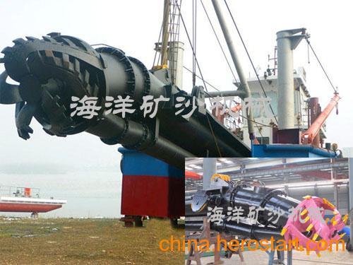 供应流量5000m/h 绞吸式挖泥船