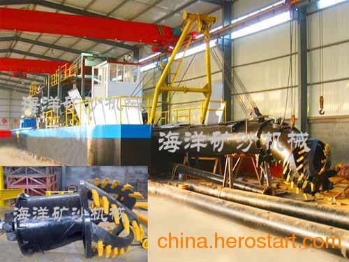 供应产量1600m/h斗轮式挖泥船