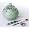 供应酉圆工坊苹果弟窑哥窑电子熏香炉,可定时调温,家庭使用最适合