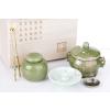 供应酉圆工坊春之绿套装系列熏香炉,木盒包装,可定时调温