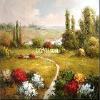 客厅餐厅油画、别墅房间配画、婚纱肖像画、油画装饰画批发feflaewafe