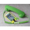 供应苹果iPhone4/4S手机防辐射复古电话式耳机话筒外接听筒