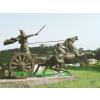 供应沈阳雕塑_沈阳园林雕塑-阿波罗战车-广场景观雕塑
