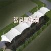 河南新乡膜结构停车棚运启膜结构停车场郑州安装屋顶膜结构