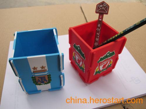 供应 韩国文具笔筒 多功能硅胶笔筒 优质可爱硅胶笔筒