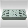 供应精密仪器电子包装海绵盒 防震海绵