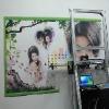 墙体喷绘机 数码墙体喷绘机 电脑数码墙体喷绘机 首选华美艾普