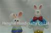 复活节可爱兔子造型蜡烛