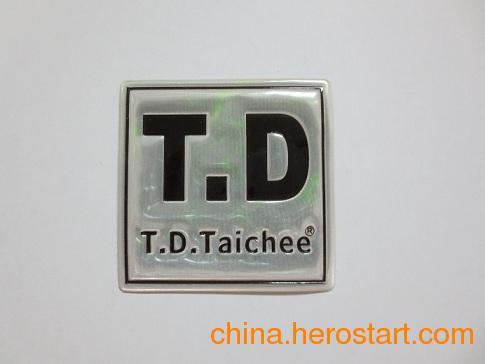 供应可移胶PVC反光商标,不干胶电压章