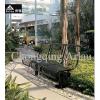 供应雅镂1.6米小区钢筋休闲椅厂家热销