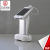 供应 ZFJ-0208G 手机防盗功能 金属管白色手机展示架