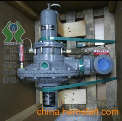 供应fisher一级天然气减压阀调压器99型99h,99-504图片