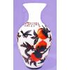 供应高档浮雕玻璃花瓶