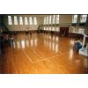 供应体育馆室内木枫木地板篮球场场地枫木木地板羽毛球场地