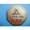 供应武汉厂家 锌合金金属徽章 压铸金属徽章 锌合金压铸金属徽章