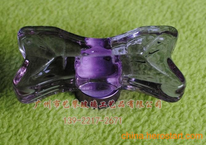 供应拉手 彩色玻璃拉手 水晶玻璃把手 款式新颖