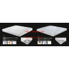 供应莉蒙磁性波浪绵 五区独立袋 按摩床垫