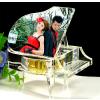 供应西安高档水晶钢琴音乐盒  西安水晶钢琴音乐盒定做 西安水晶钢琴音乐盒批发