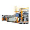 供应PE加粉煤灰塑料建筑模板生产线设备机器机械挤出机组