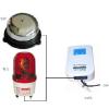 供应电话铃声助听器闪光铃 铃声放大器 来电声光报警器 北京