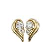 专柜正品 支持验货18K黄金12分钻石耳钉 女款 时尚耳饰