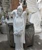 供应石料工艺品--花岗岩西方人物雕刻工艺品--欧式天使雕刻工艺品
