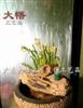 中式树脂喷泉流水工艺品 家居鱼缸摆件 鱼缸喷泉流水梦里水乡水景