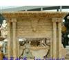 厂家加工大理石石雕工艺品摆件室内装饰汉白玉壁炉