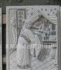 厂家设计生产直销寺庙古建浮雕石雕镶进墙壁的石头雕刻二十四孝