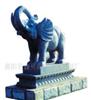 供应石材雕刻喷泉园林景观动物雕塑大象凤凰狮子麒麟