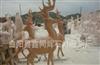 长期定做加工石材雕刻工艺品各种石材动物鹿