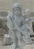 厂家直销供应汉白玉石雕小天使西方人物