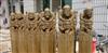 新品上市 批发定做 仿古石雕 石雕人物拴马桩
