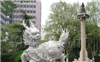 厂家低价供应青石石雕麒麟、石刻雕塑、按客户图片加工