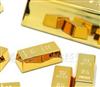 批发新品小金砖冰箱贴/磁石贴 小黄金纸镇 金块镇纸 (6个一套)