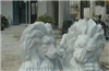 供应石雕石料工艺品-花岗岩动物雕刻工艺品-欧式狮子雕刻