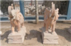 晚霞红象  汉白玉大象 花岗岩大象    吉祥如意象动物雕刻