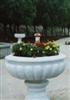 花盆   (精雕细琢 汉白玉、 花岗石、大理石花盘)